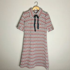 Vintage 60s mod mini dress.